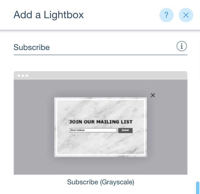 Add lightbox